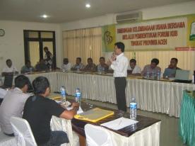 Pelatihan manajemen usaha bagi KUB Perikanan